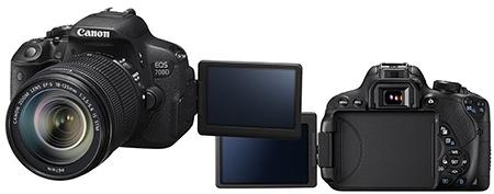 Canon EOS 700D výklopný displej