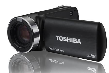 Toshiba Camileo X450 – Full HD videokamera