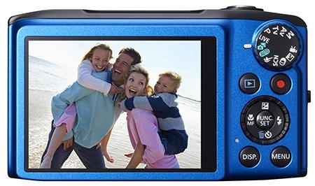 Canon PowerShot SX270 HS zezadu