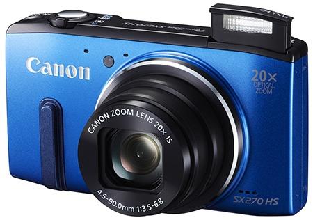 Canon PowerShot SX270 HS - blesk