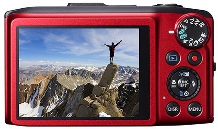 Canon PowerShot SX280 HS zezadu