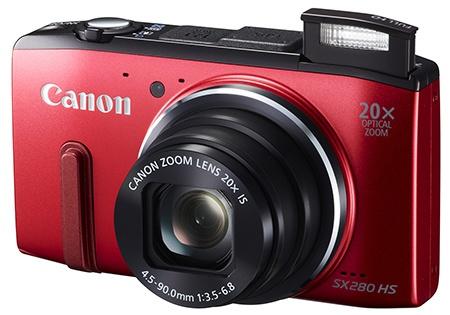 Canon PowerShot SX280 HS - blesk