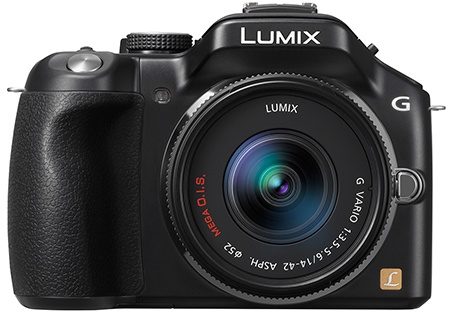 Panasonic Lumix DMC-G5 en face