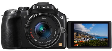 Panasonic Lumix DMC-G5: hledáček + výklopný a otočný displej