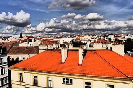 střecha III