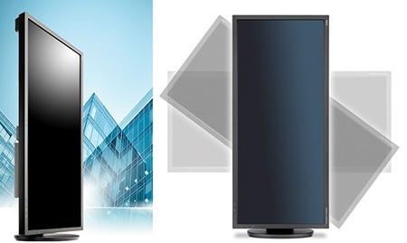 NEC MultiSync EA294WMi - flexibilita, ergonomie