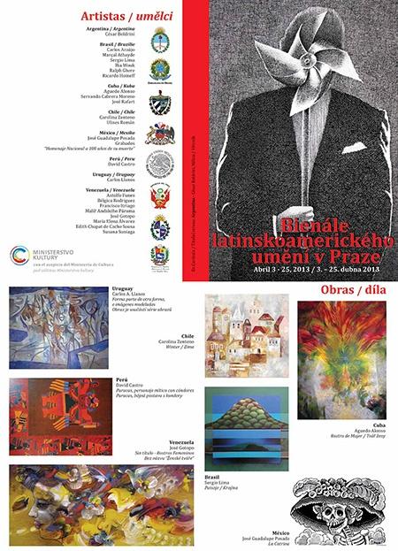 III. Bienále latinskoamerického umění - Bienal Folleto