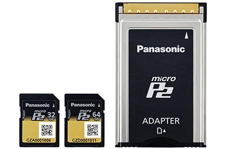 Panasonic paměťové karty microP2