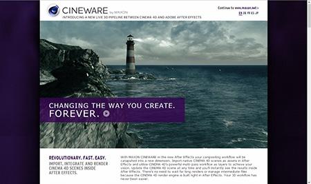 Cineware, After Effects dostávají plnohodný 3D editor!