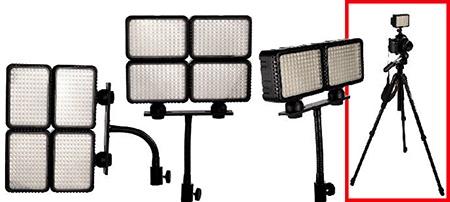 FOMEI LED Light 1450 – příklady použití