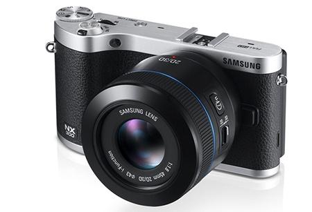Samsung NX300 + objektiv 2D/3D 45 mm 1:1,8