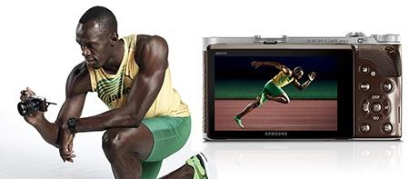 NX300 a Usain Bolt I