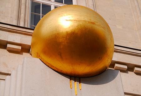 zlatá koule