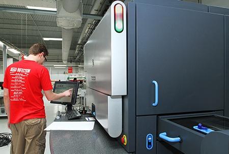 tisk fotoknih: HP Indigo 7500 Digital Press