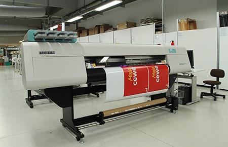 velkoplošný tisk: Fujifilm Acuity LED 1600