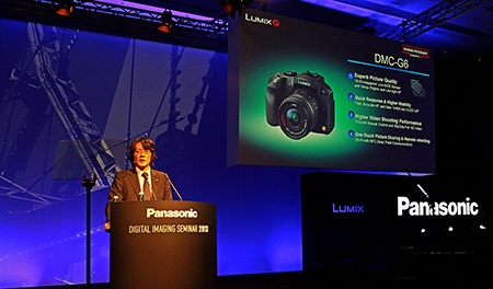 Ichiro Kitao prezentuje Lumix G6, tiskovka Vídeň