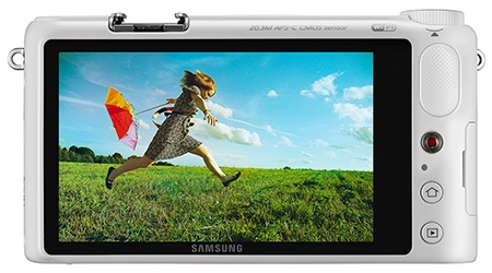 Samsung NX2000 - display