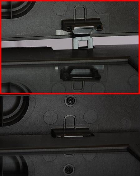 detailní pohled na výsuvný čep víka