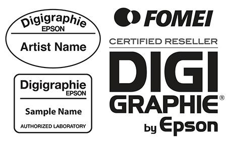 šablony raznice umělce a laboratoře plus logo dealera DIGIgraphie pro trh CZ+SK