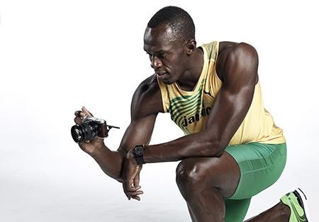NX300 a Usain Bolt