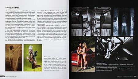 Kniha Fotografujeme portréty - akt