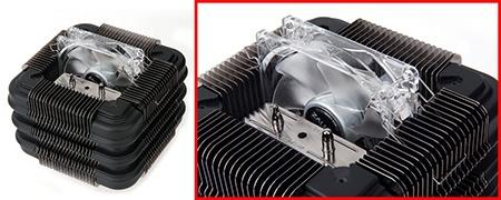 chladič CPU Zalman FX100 s ventilátorem