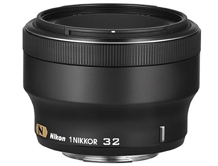 Nikon 1 Nikkor 32 mm 1:1,2 černý