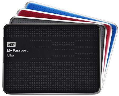 WD My Passport Ultra - 4 barvy