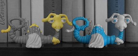 funkce výběrové barvy - alespoň dva příklady, žlutá a modrá barva