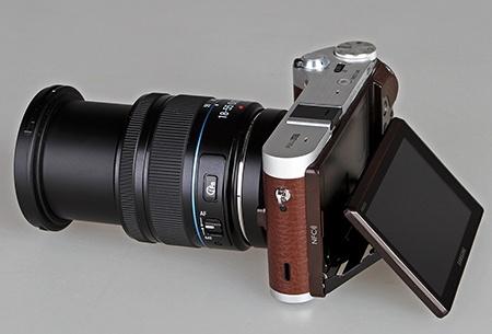 Samsung NX300 a setový objektiv se zoomem na maximu