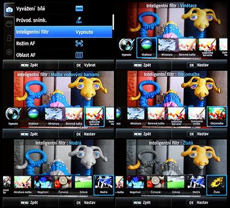 LCD: inteligentní filtry