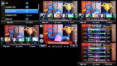 LCD: obrazové styly