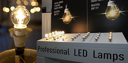 LED žárovky Panasonic Nostalgic Clear a pro profipoužití