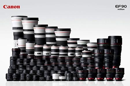Canon už vyrobil přes 90 milionů objektivů