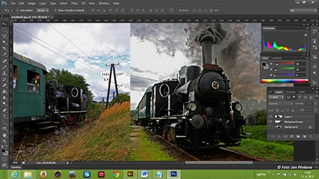 Adobe Photoshop from Master Collection CS6 - via ajpFOTO