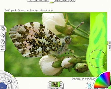 ArtRage 2, bundle u tabletu Wacom Bamboo One - via ajpFOTO