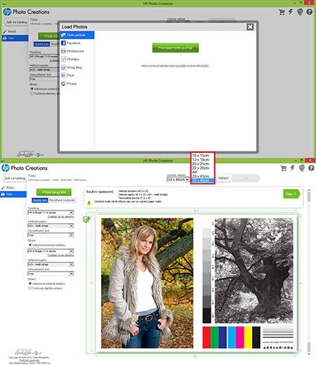 sw Photo Creations VI - tisk formátu A3