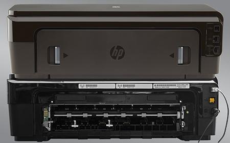 HP Officejet 7110 Wide Format ePrinter - zadní stěna