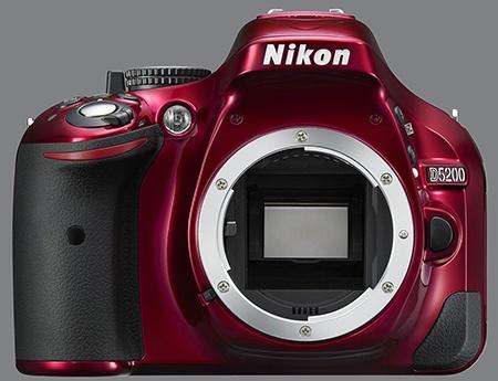 Nikon D5200 - bajonet