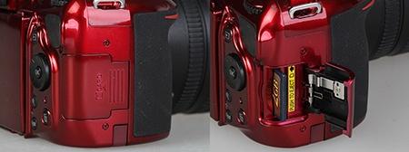Nikon D5200 - paměťová karta