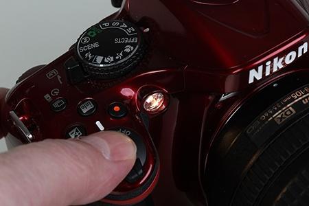 Nikon D5200 - LED