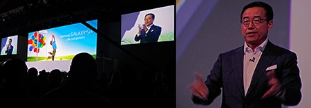 DJ LEE, prezident Samsung