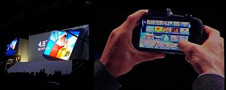Samsung GALAXY NX na londýnské show