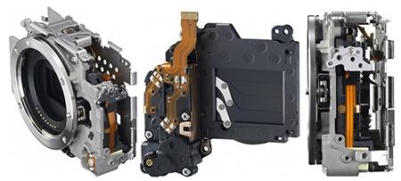 Canon EOS M - pohled na některé důležité systémy