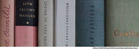 redukce šumu - knihy