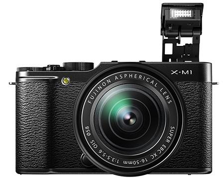 Fujifilm X-M1 - vyklopený blesk