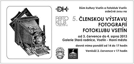Fotoklub Vsetín: 5. členská výstava fotografií