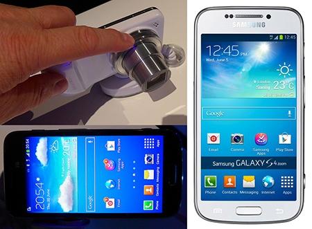 Samsung Galaxy S4 Zoom – fotoaparát s telefonem
