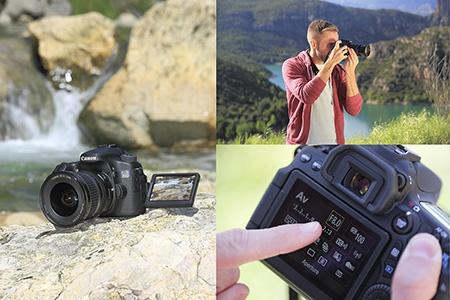 Canon EOS 70D v akci II