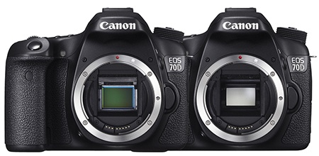 Canon EOS 70D - bajonet